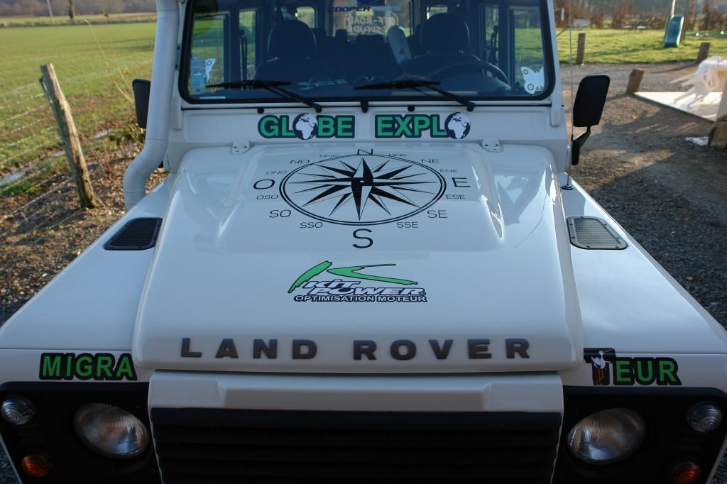 Land Rover et Kitpower en Expédition avec Mondial 4X4