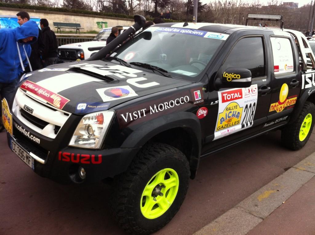 DMAX boitier additionnel 4X4 Kitpower sur le rallye raid des Gazelles