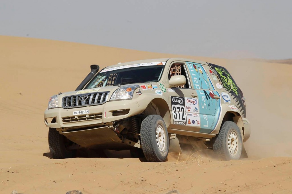 boitier additionnel 4X4 Kitpower sur le rallye raid