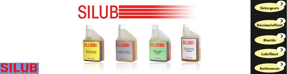 additifs Silub gazole, essence  et moteur