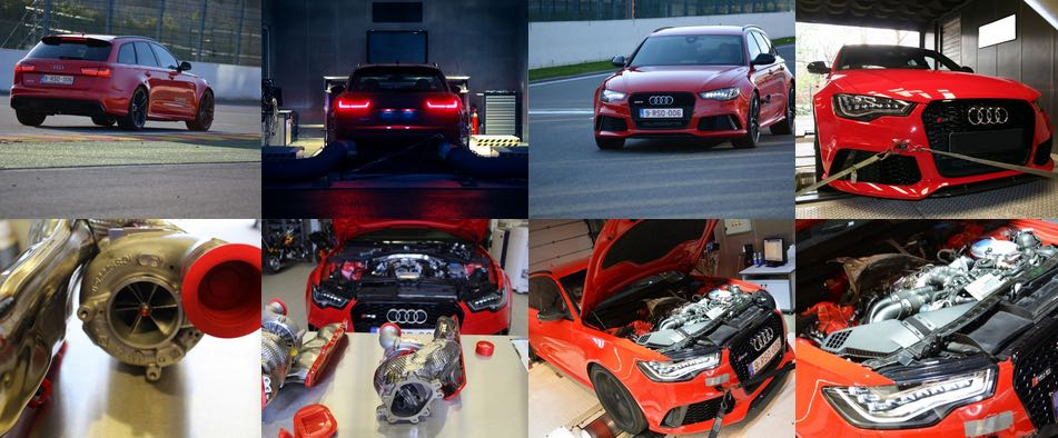 boitier additionnel atelier audi rs6